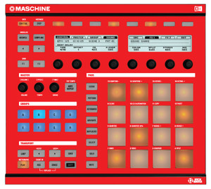 Native Instruments MASCHINE red / adhesive SALE