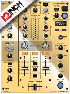 PIONEER DJM-450 Skinz -  Metallics