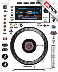 Pioneer CDJ-900nexus Skinz (PAIR) - COLORS