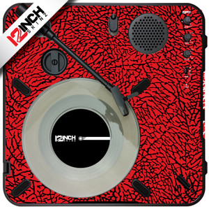 Numark PT-01scratch Turntable Skinz - Dunk Colors
