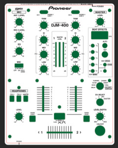 Pioneer DJM-400 Skinz - Custom