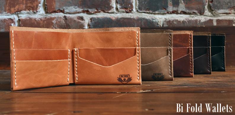 DaLuca Handmade Bi Fold Wallets