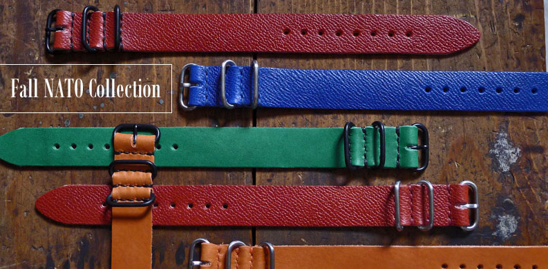 DaLuca Fall Collection NATO Watch Straps
