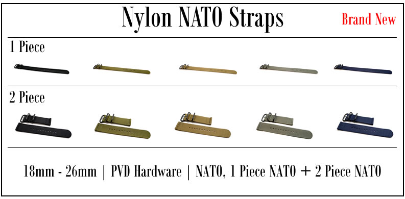 DaLuca Suede Nato Watch Straps