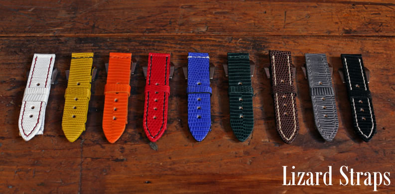 DaLuca Handmade Lizard Watch Straps