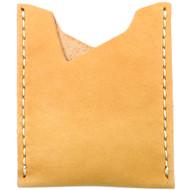 Leather Stash Wallet - Natural Essex