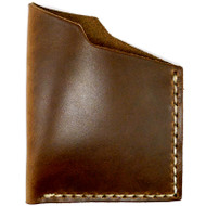 Leather Angle Wallet - Natural Chromexcel