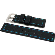 PU Ballistic Waterproof Dive Strap - Blue