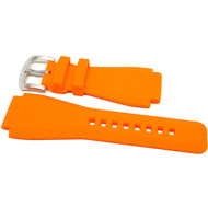 Bell & Ross Rubber Dive Watch Strap - Orange