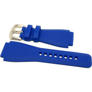Bell & Ross Rubber Dive Watch Strap - Blue