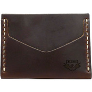 Horizontal Card Wallet - Brown Chromexcel