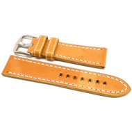 OEM Style Leather Watch Strap - Natural