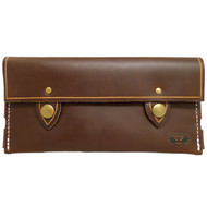 Leather Wallet - Brown Chromexcel
