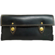 Leather Wallet - Black Chromexcel