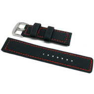 PU Ballistic Waterproof Dive Strap - Red