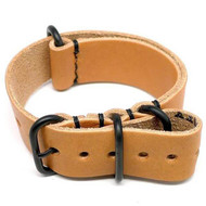 Military Watch Strap - Natural Essex (PVD Buckle)