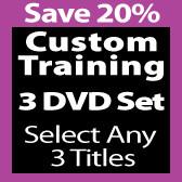 Custom 3 DVD Set