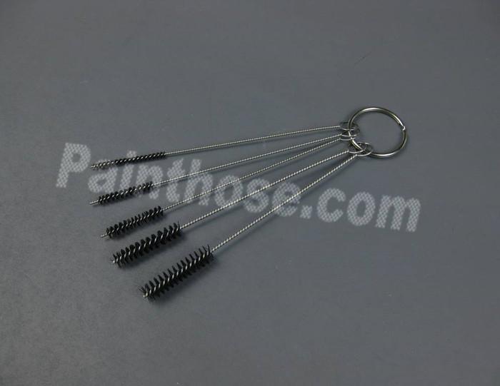 HVLP, Air Gun & Airbrush Cleaning Brushes 5 Piece Set