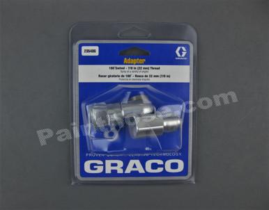Graco 235486 Adjustable 180 176 Nozzle Swivel 7 8 Quot Oem