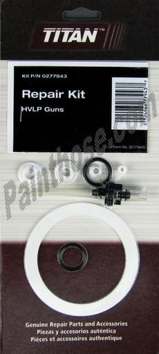 Hvlp Spray Gun Kit >> Titan Capspray 0277943 or 277943 HVLP Spray Gun Repair Kit - Painthose.com