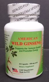 American Wild Ginseng 15 to 30 years