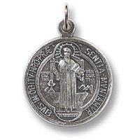 Saint Benedict Silver Medal