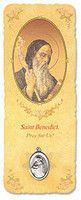 Saint Benedict Bookmark