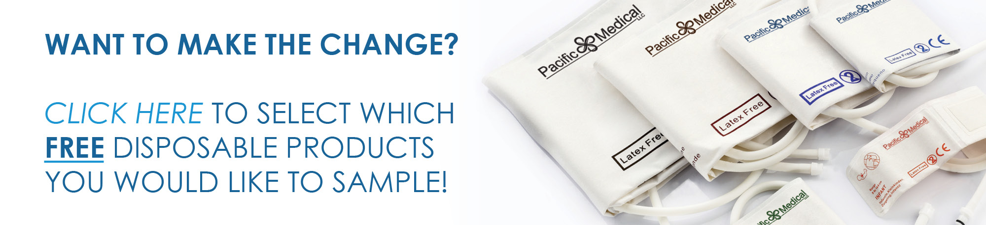 Get A free disposable sample from Pacific Medical Supply