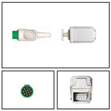 BCI 12 Pin to DB9 SpO2 Extension Cable