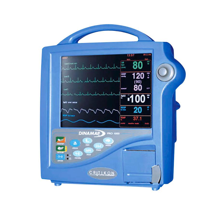 GE Critikon Dinamap Pro 1000 Patient Monitor - Pacific Medical on