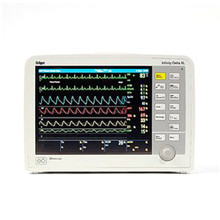 Drager Infinity Delta XL Patient Monitor Respiration SpO2 Temperature
