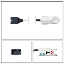 Masimo OEM 1864 3 ft. LNCS Pediatric SpO2 Sensors
