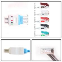 Datascope 5 Lead Dual Pin ECG Leadwires (Grabber) (0012-00-1514-01/2/3)
