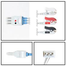 Philips 3 Lead Single Pin ECG Leadwires (Grabber) (M1671A)