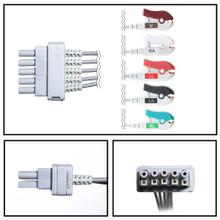 GE Datex-Ohmeda 5 Lead Dual Pin ECG Leadwires (Grabber) (Single Leads)
