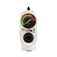 Ohio Push-To-Set 1271 Pediatric Intermittent Vacuum Regulator (Analog Gauge)