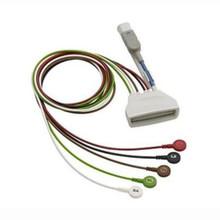 Philips 5 Lead Snap w/ SpO2 for MX40 Telemetry Transmitter