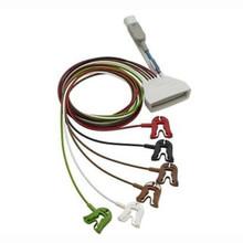 Philips 6 Lead Grabber  w/ SpO2 for MX40 Telemetry Transmitter