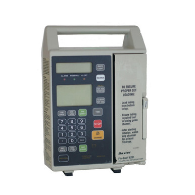 Baxter Flo-Gard 6201 Linear Volumetric Infusion Pump IV Intravenous Fluid Delivery Pump