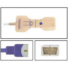 Nellcor ™ Compatible OxiMax ™ Pediatric Disposable SpO2 Sensor - Textile Adhesive (Box of 24)
