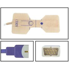Nellcor ™ Compatible OxiMax ™ Adult Disposable SpO2 Sensor - Textile Adhesive (Box of 24)