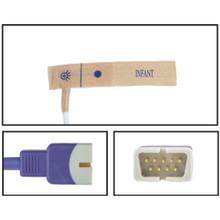 Nellcor ™ Compatible OxiMax ™ Infant Disposable SpO2 Sensor - Textile Adhesive (Box of 24)