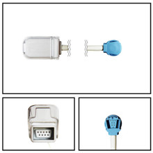 GE Datex-Ohmeda 1 ft. DB9 to OxiTip SpO2 Extension Cable