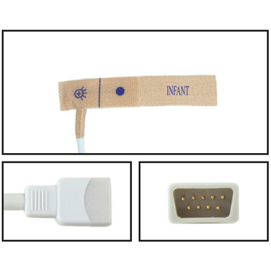 BCI Infant Disposable SpO2 Sensor - Textile Adhesive (Box of 24)