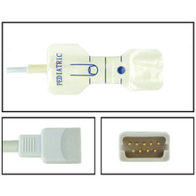 Datascope Pediatric Disposable SpO2 Sensor - Foam Adhesive (Box of 24)