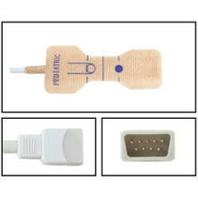 Datex-Ohmeda Pediatric Disposable SpO2 Sensor - Textile Adhesive (Box of 24)