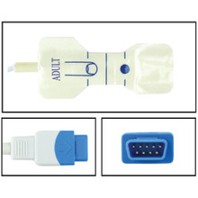 GE TruSignal Adult Disposable SpO2 Sensor - Foam Adhesive (Box of 24)