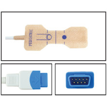 GE TruSignal Pediatric Disposable SpO2 Sensor - Textile Adhesive (Box of 24)
