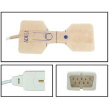 Nellcor ™ Compatible Adult Disposable SpO2 Sensor - Textile Adhesive (Box of 24)
