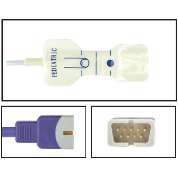 Nellcor ™ Compatible OxiMax ™ Pediatric Disposable SpO2 Sensor